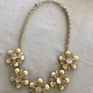 Banana Republic Jewelry - Banana Republic flower necklace
